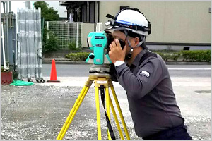 建設測量(建築測量)・墨出し